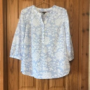 Talbots Large petite Floral Top